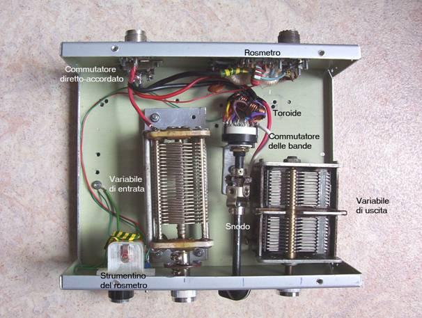 Un adattatore di antenna portatile